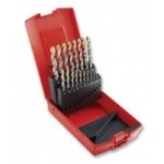 DORMER A09518 29 PIECE DRILL TIN COATED  KIT