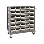 MOBILE STEEL PARTS CABINETS - NHD530